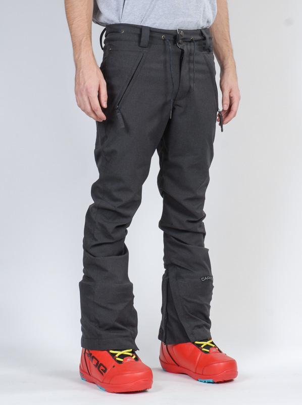 6cffe067469e Cappel BANKROBBER BLACK STRETCH T zimní kalhoty pro muže   MEGAskate.cz