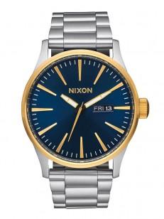 6be7604ef Quiksilver FURTIV CANVAS Blue/Blue/Blue ručičkové hodinky / MEGAskate.cz